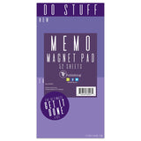 Violet DO STUFF Memo Magnet Note List Pad