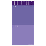 Violet DO STUFF Memo Magnet Pad