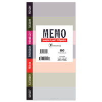 Vibrant Thing Memo Magnet Pad - BOLD MOVES COLLECTION