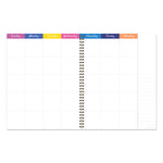 Bright Blooms Large Weekly Monthly Planner