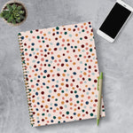 Spotted Dot Boho Undated Large Weekly Monthly Spiral Planner