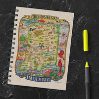 Indiana State Map Journal