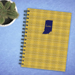 Indiana Golden Plaid Journal
