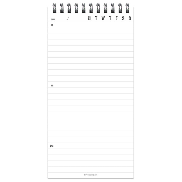 Indiana Daily Agenda Planner