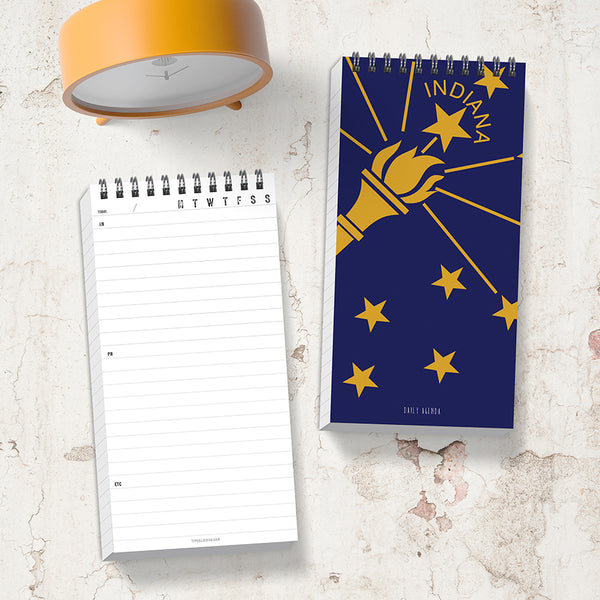 picture about Daily Agenda Planners called Indiana Each day Schedule Planner