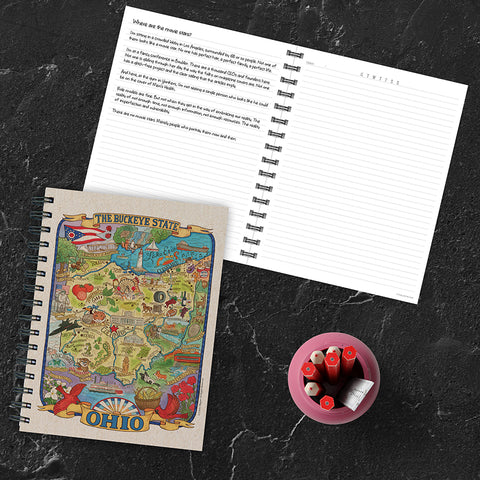 Ohio State Map Journal