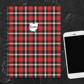 Ohio Buffalo Plaid Journal