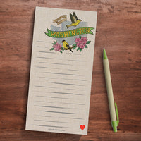 Washington Memo Magnet Pad