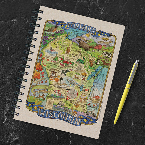 Wisconsin State Map Journal