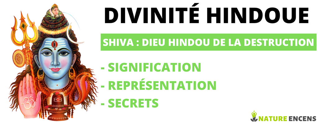DÉESSE SHIVA : DIEU HINDOU DE LA DESTRUCTION