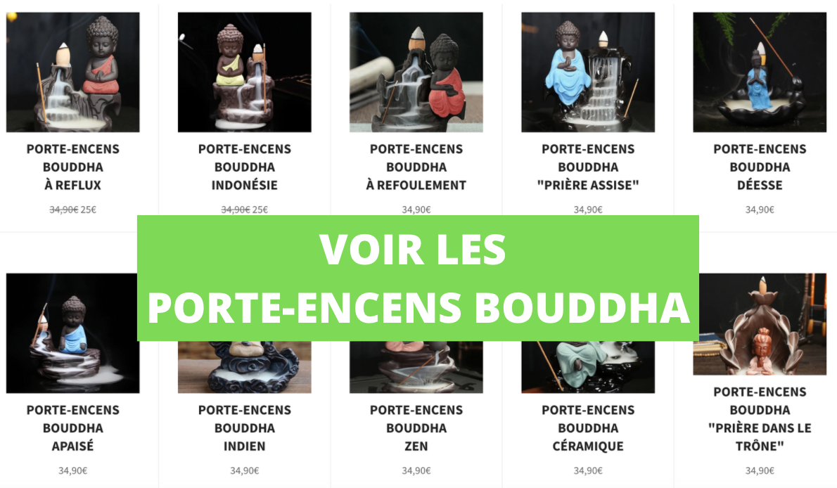 Support Encens Bouddha