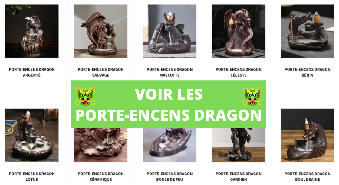 Porte Encens Dragon