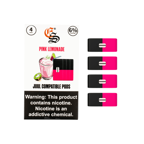 Pink Lemonade Eonsmoke 6% Nicotine Salt Pods (Pack of 4)