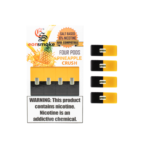 Pineapple Crush Eonsmoke 6% Nicotine Salt Pods (Pack of 4)