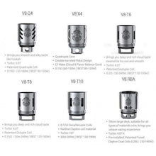 Load image into Gallery viewer, SMOK V8 Coils 3/Pack