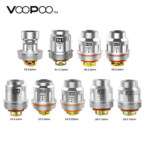 VooPoo UFORCE Replacement Coils - 5 PK