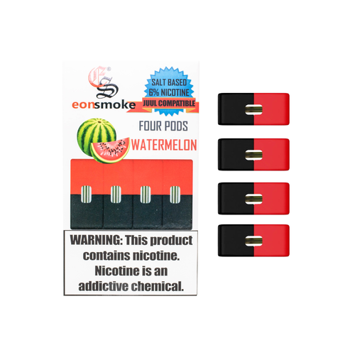 Watermelon Eonsmoke 6% Nicotine Salt Pods (Pack of 4)