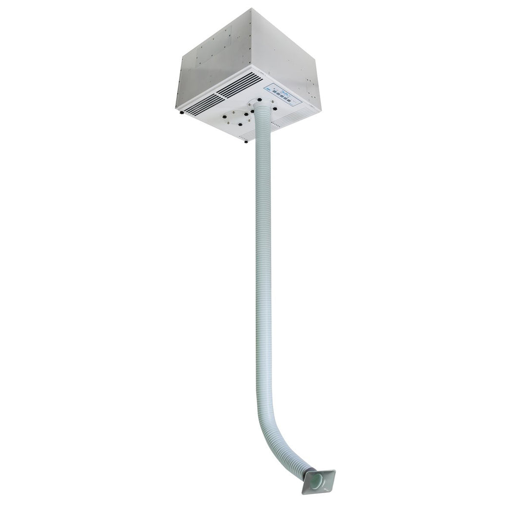 HealthyAir® Ceiling-Mount Source Capture Air Purification System - Single Inlet