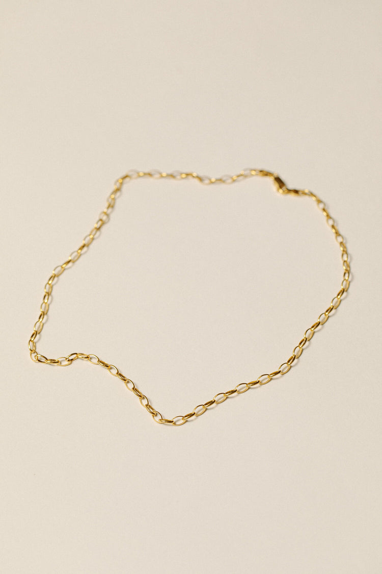 Pamela Card - Love Lock Chain Necklace
