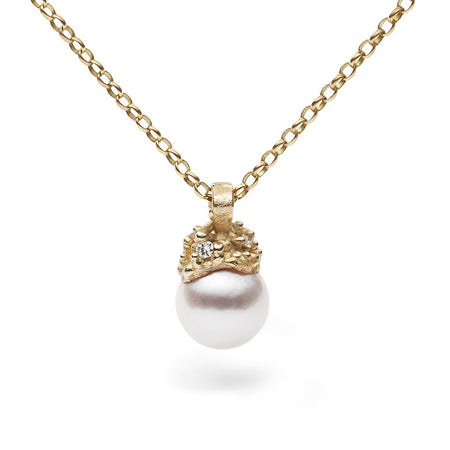 Ruth Tomlinson - Encrusted Pearl Pendant