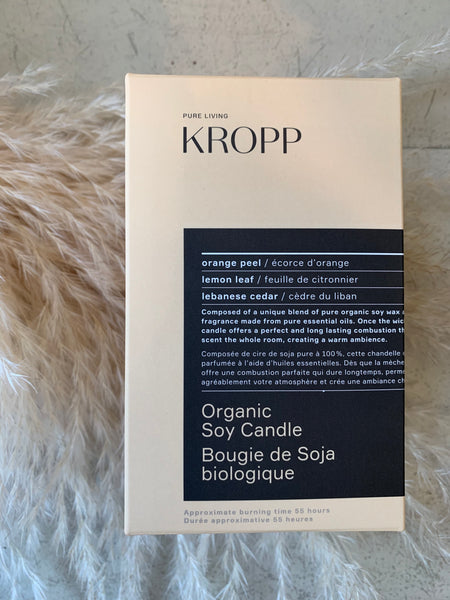 KROPP - Organic Soy Candle 55hrs