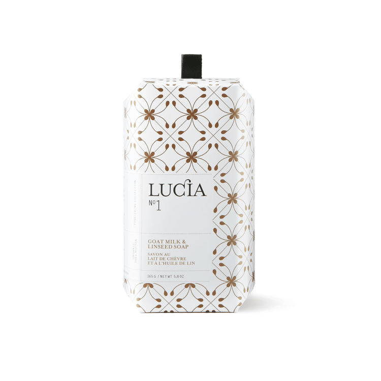 Lucia - No.1 Goatmilk & Linseed Soap