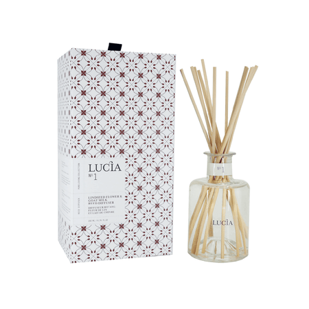 Lucia - No.1 Linseed Flower & Goat Milk Reed Diffuser