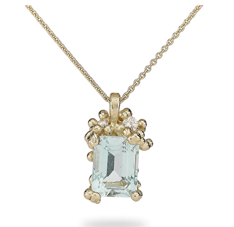 Ruth Tomlinson - Aquamarine Necklace N