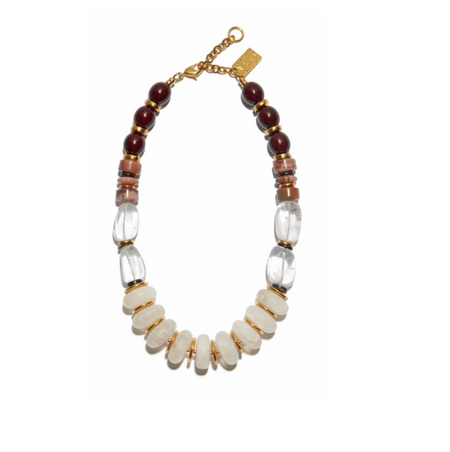 Lizzie Fortunato - Tuscan Quartz Necklace