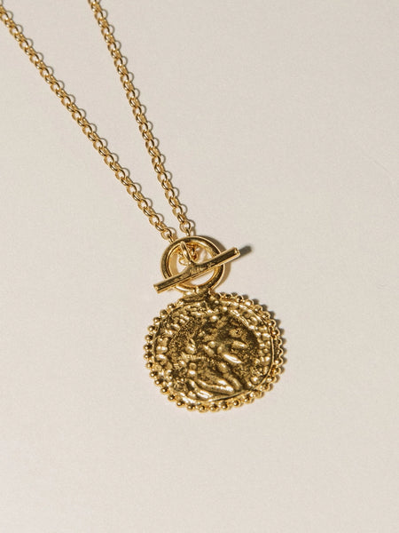 Pamela Card - Constantine's Medallion Necklace