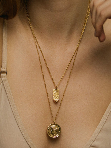 Pamela Card - Syracuse Necklace - Bernstein & Gold