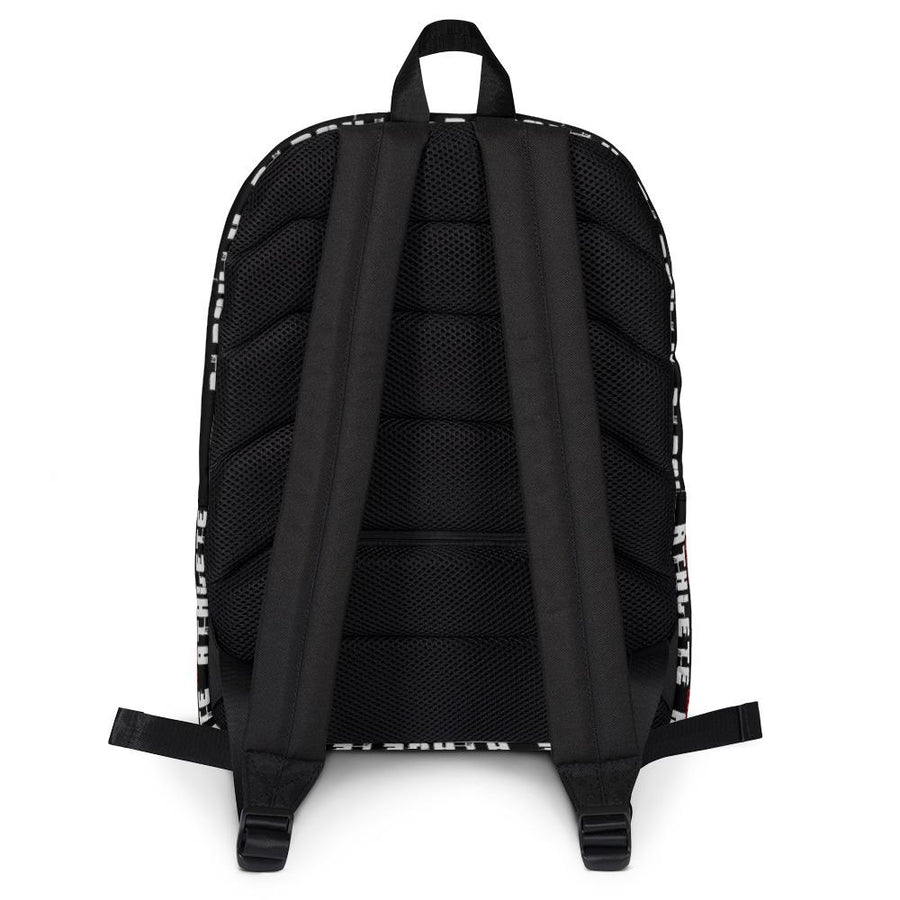 Secret Athlete Black Backpack