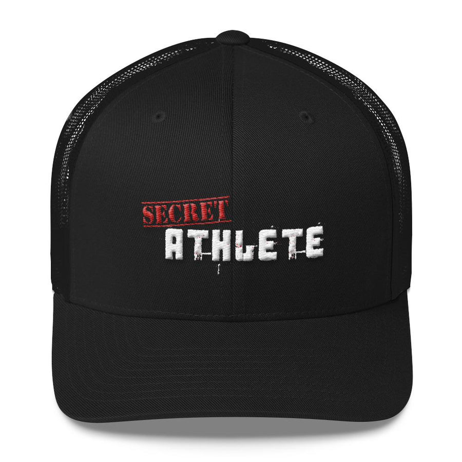 Secret Athlete Black Cap - Secret Athlete