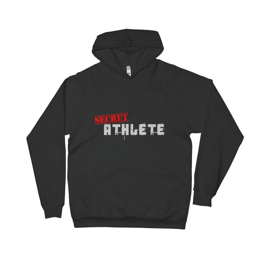 Secret Athlete Black Fleece Hoodie - Secret Athlete