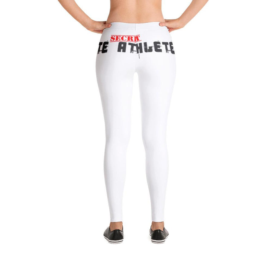 Secret Athlete White Leggings