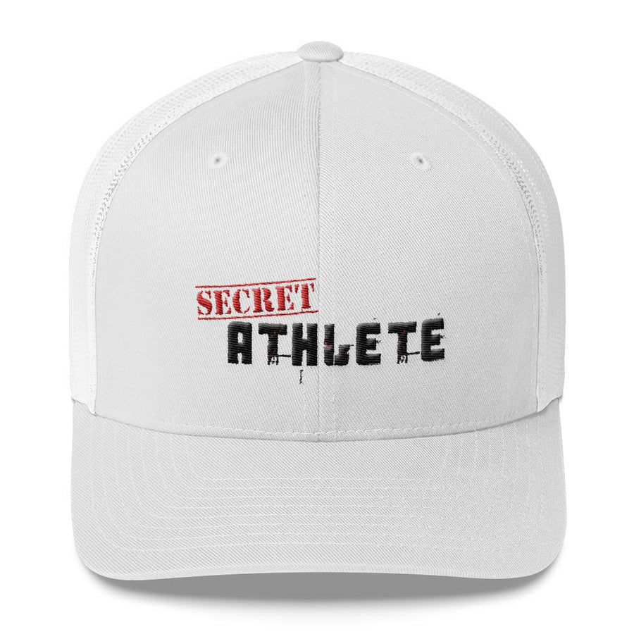 Secret Athlete White Cap - Secret Athlete