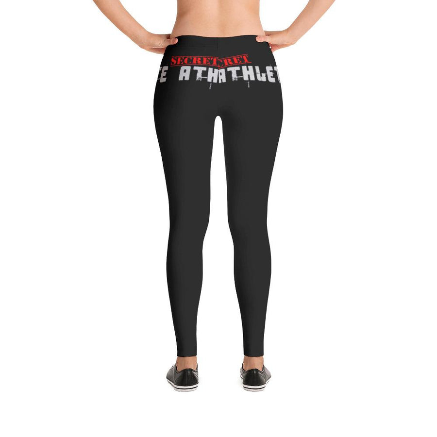 Secret Athlete Black Leggings - Secret Athlete