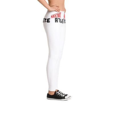 Secret Athlete White Leggings - Secret Athlete