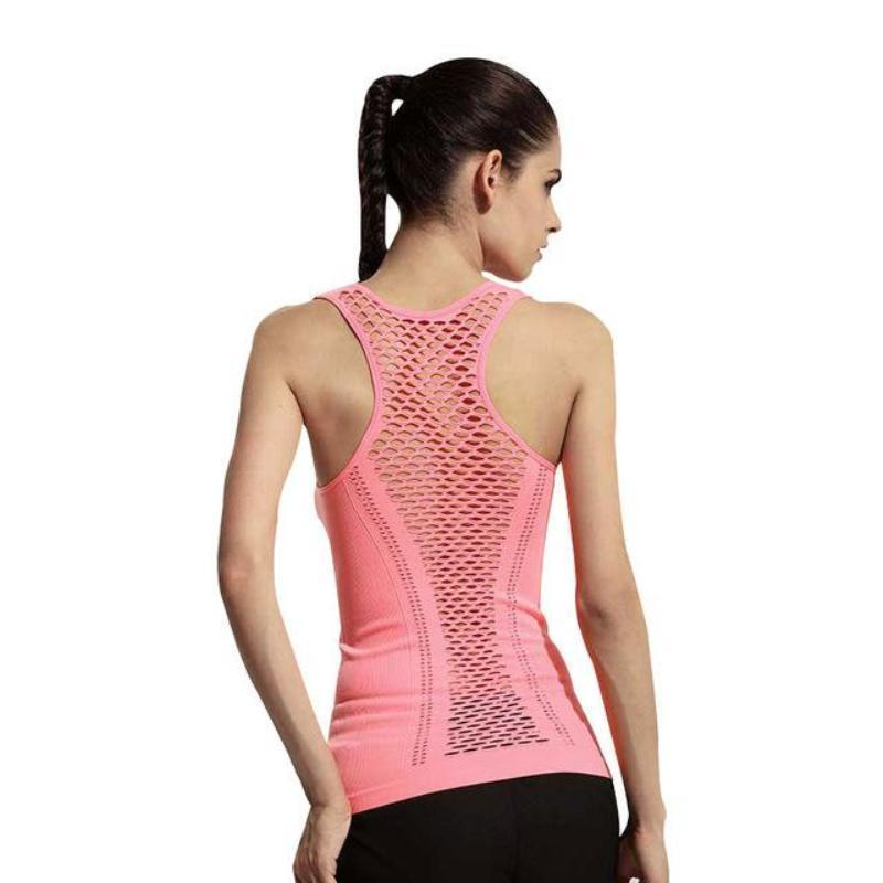 Racer Breathable Meshed Active Vest - Secret Athlete