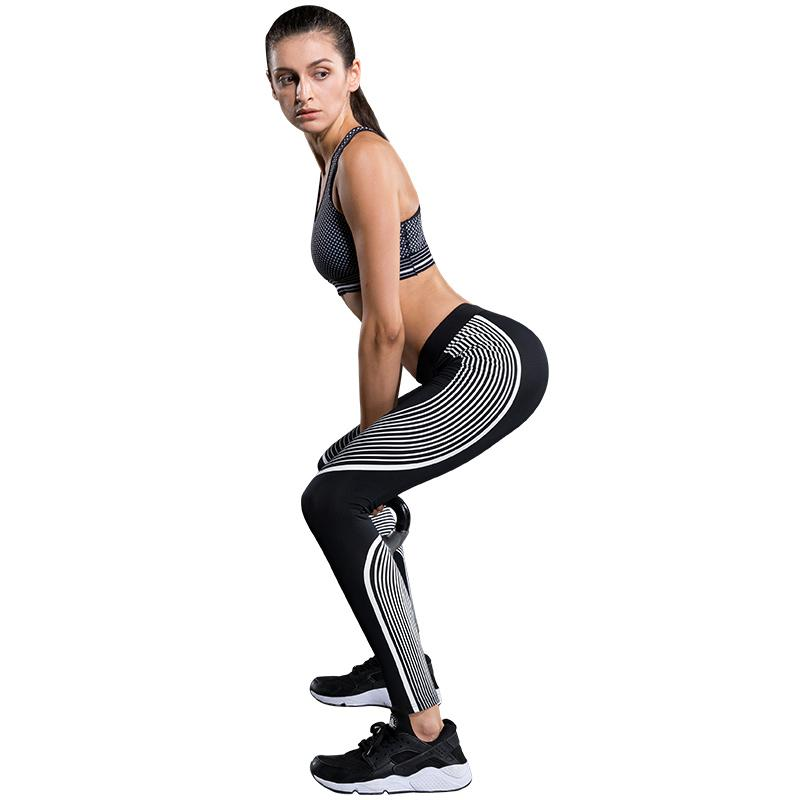 Racer Style Elastic Compression Yoga Set - Secret Athlete