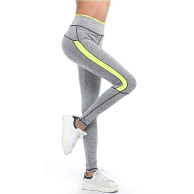 Neon Highlighted Workout Leggings - Secret Athlete
