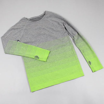 Long Sleeved Faded Gradient - Secret Athlete