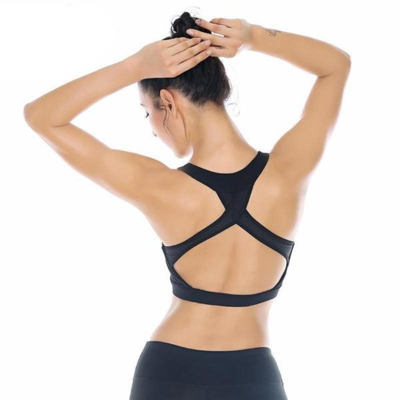 Prism Strap Workout Crop - Secret Athlete