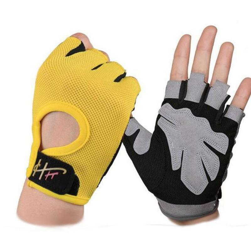 Anti-Slip Half Finger Gym Gloves - Secret Athlete