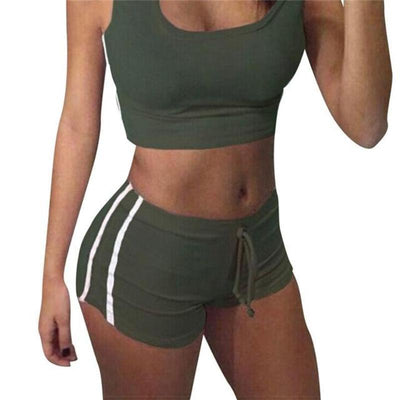 2 Piece Cotton Blended Active Gym Set - Secret Athlete
