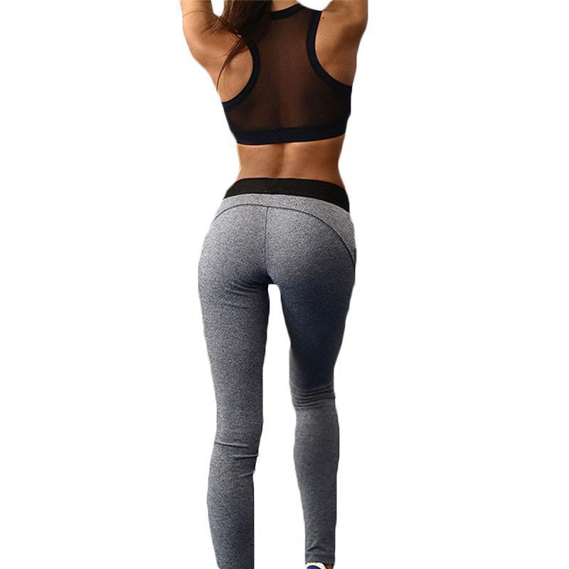 2 Piece Elastic Meshed Running Set - Secret Athlete