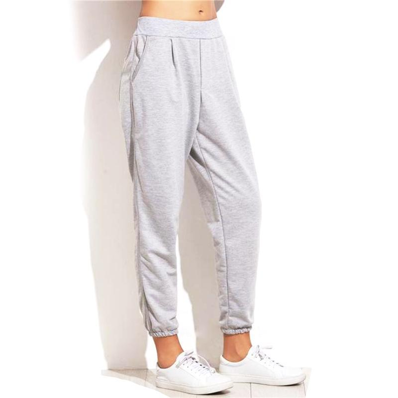 Elastic Cuff Mid Waist Sweatpants - Secret Athlete