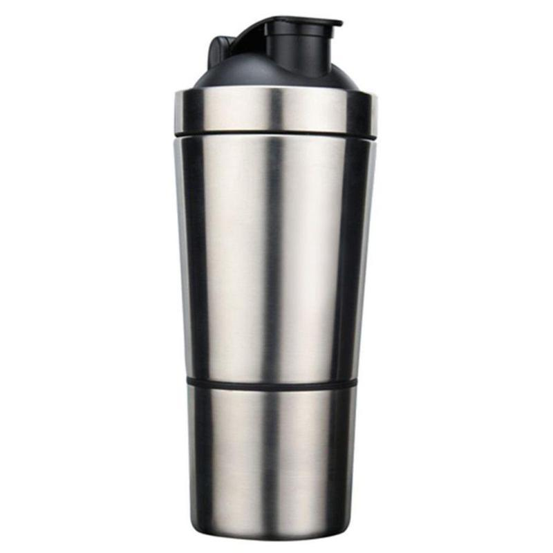 Stainless Steel Protein Shaker - Secret Athlete