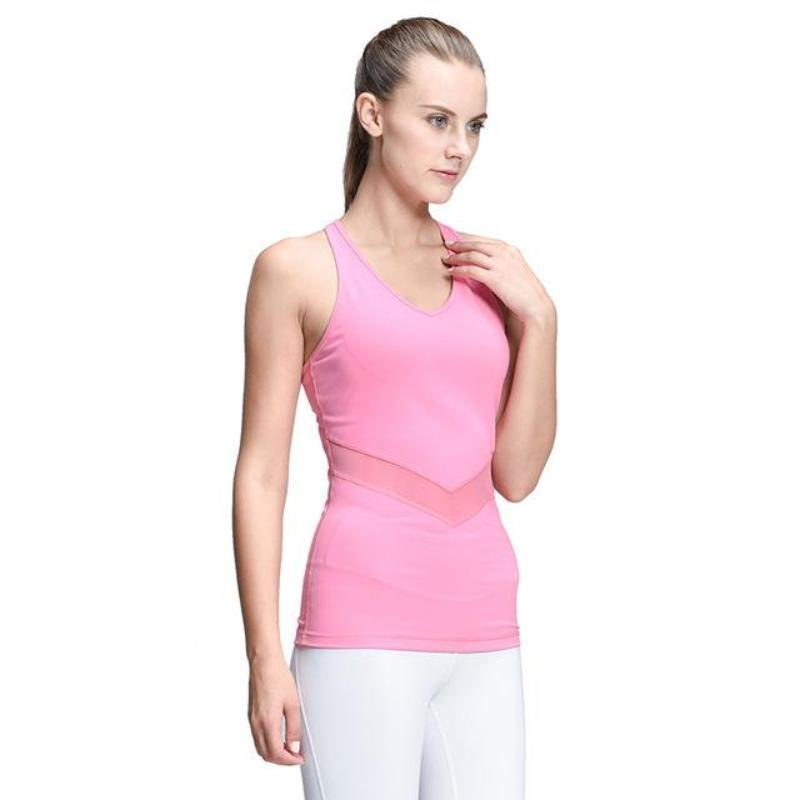 Slim Stretch Fitted V-Neck Vest - Secret Athlete