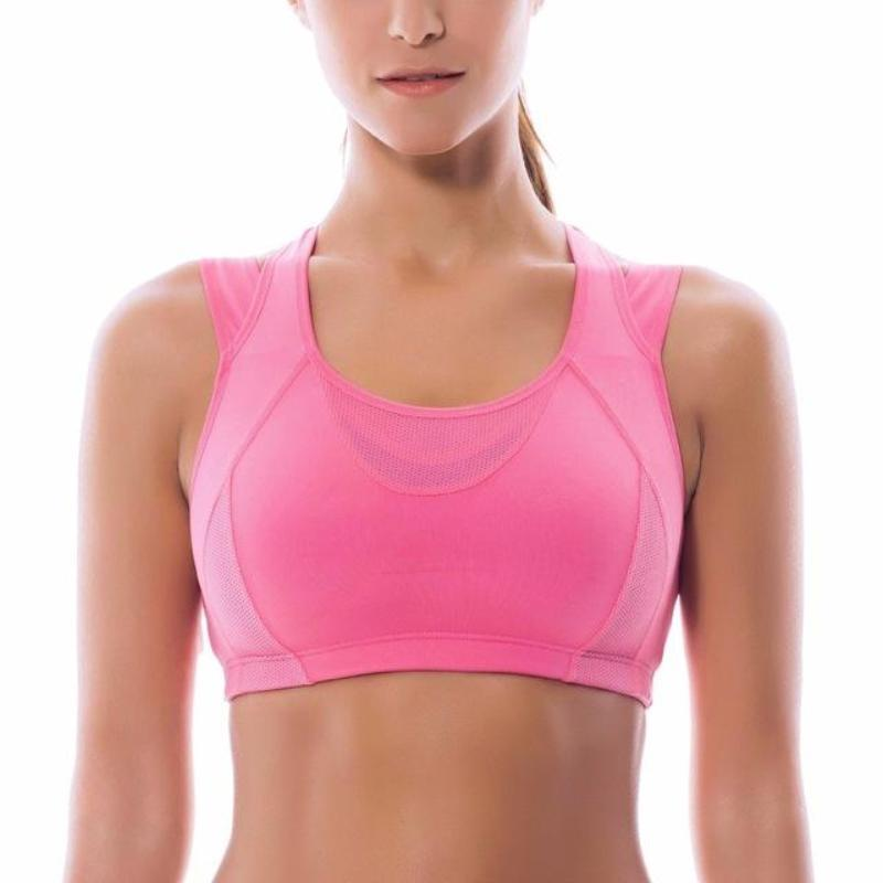 High Impact Support Racerback Sports Bra - Secret Athlete